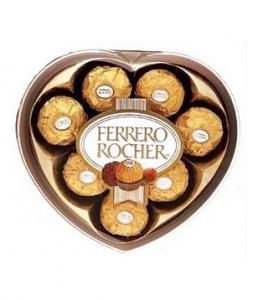 Ferrero Rocher Heart Box, 100 g