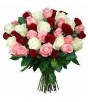 Passion Mix Roses Bouquet